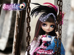 OSDS_Pullip01_Angela_092 (Sheryl Designs) Tags: new pink blue original bird eye love beauty face japan hair death design carved outfit eyes doll acrylic dolls eyelashes dress body forum gothic foro lips chips wig chip modified designs groove series pullip 16 custom angela pullips eyebrows bodies mechanism sheryl sculpt junplanning osds eyemech obisu sheryldesigns pullipes forodepullips
