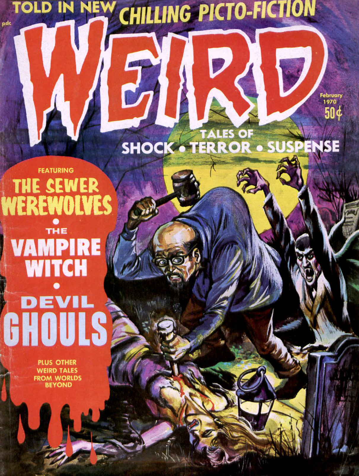 Weird Vol. 04 #1 (Eerie Publications, 1970)
