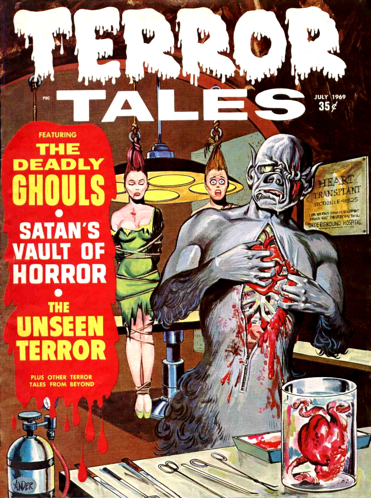 Terror Tales Vol. 01 #9 (Eerie Publications, 1969)