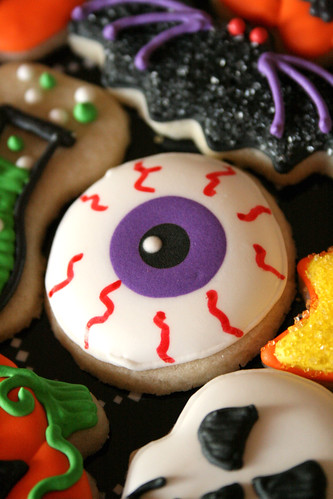 Mini Eyeball Cookie.