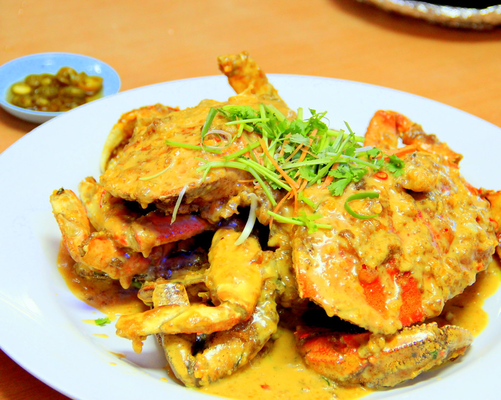 Creamy Salted Egg Crab
