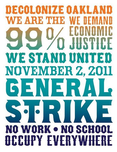 oakland general strike by jim leftwich