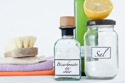 Economize com produtos de limpeza caseiros