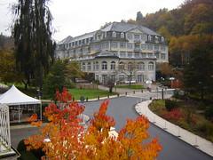 Blick zum Parkhotel in Schlangenbad