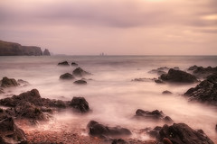 Mists of Eshaness (lordoye) Tags: longexposure sunset cliffs aurora shetland northernlights eshaness 1740f40l eos7d