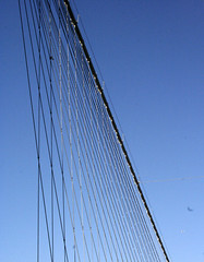 brooklyn bridge (bonami312) Tags: wire exterior stretch repetition patterning