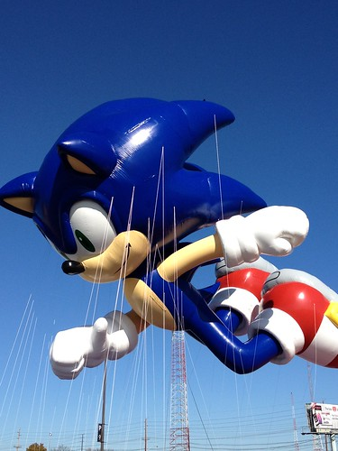 Sonic Balloon Test Flight