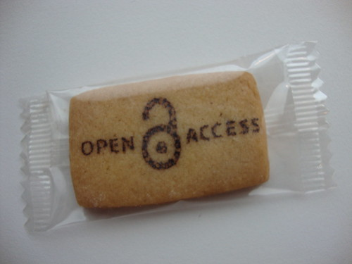 Open Access cookie by biblioteekje, on Flickr