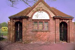 "Saffrons Park Cricket Entrance • <a style=""font-size:0.8em;"" href=""http://www.flickr.com/photos/59278968@N07/6325927200/"" target=""_blank"">View on Flickr</a>"
