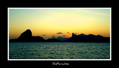 Rio de Janeiro Outline (RioParadiso Studio) Tags: city magic nights 1001 flickrstruereflection1