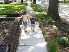 walkable neighborhood (by: Katherine Johnson, creative commons license)