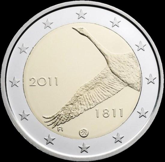 2 Euro Fínsko 2011, Bank of Finland