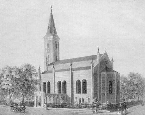 Dorotheenkirche 1863 Reincke
