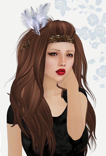 "IREN Headband ""Feather"""
