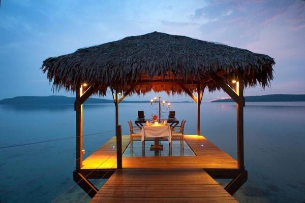 The Havannah Vanuatu - dining