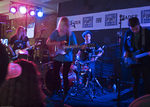 10.21 CMJ Bleached @ Fader Fort