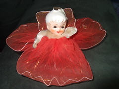 Small red angel