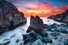 Sunset for the Veterans (Extra Medium) Tags: california longexposure sunset red pch ptmugurock singhrayrgnd