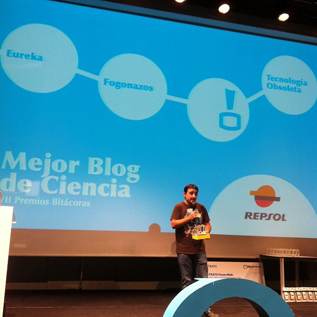 fogonazos - Fogonazos, Premio Bit�coras 2011 al mejor blog de ciencia