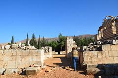 Anjar, Umayyad city, al-Walid I, 705-15, great palace (3) (Prof. Mortel) Tags: lebanon umayyad anjar