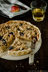 Honey Roasted Cardamom Apple and Brown Butter Streusel Crostata by Meeta K. Wolff