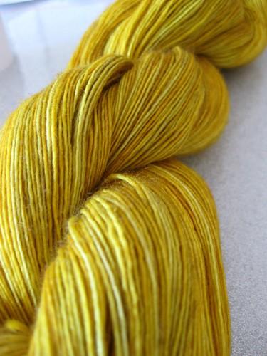 Gold yarn