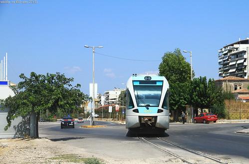 un gtw tram a Patrasso
