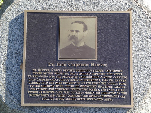 JC Hawver Plaque close up