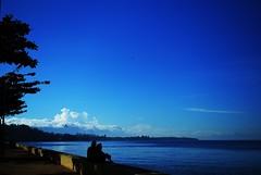 (Wilford Loayon Photography) Tags: sea color nature clouds landscape bay morninglight nikon asia southeastasia wordpress philippines seawall leyte ormoc morningreflections ormocplaza