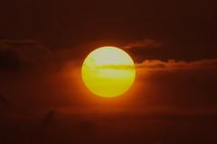#850C3393- Some says the sun is round (Zoemies...) Tags: sun beach nature balikpapan melawai zoemies