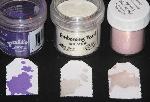 Embossing Powders 005