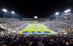 Lavell Edwards Stadium (Jim Boud) Tags: game college night canon lights football stadium crowd arena ncaa cougars byu collegefootball canonefs1022mm brighamyounguniversity 60d lavelledwardsstadium jimboud