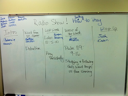 Radio Show Plan by Wesley Fryer, on Flickr
