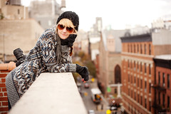 Kayla Clements || NYC [Explored #40] (Austen Czapla) Tags: nyc roof austen canon eos soho full frame 5d kayla clements mkii mark2 explored czapla