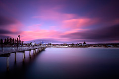 Brighton Beach Jetty Sunset (James Yu Photography) Tags: longexposure photography james seascapes 5 australia adelaide years another sa southaustralia australiabeach 詹姆斯视界