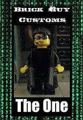 Brick Guy Customs: The One (The Brick Guy) Tags: code lego trenchcoat neo custom cyberpunk thematrix minifigure theone brickarms mmcb tinytactical legocontestnetwork brickguycustoms
