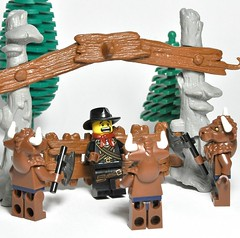 Payback time ! (Greg 50) Tags: lego revenge cody payback minotaur bisons buffalobill minotaure williamcody