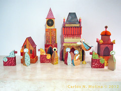 Jim's Nativity 3 - Complete (Carlos N. Molina - Paper Art) Tags: art paperart puertorico jesus craft christmasdecoration creche nativity wisemen manualidades religiousart papersculpture paperartist carlosnmolina artesaniapuertorriquea reyesmagus