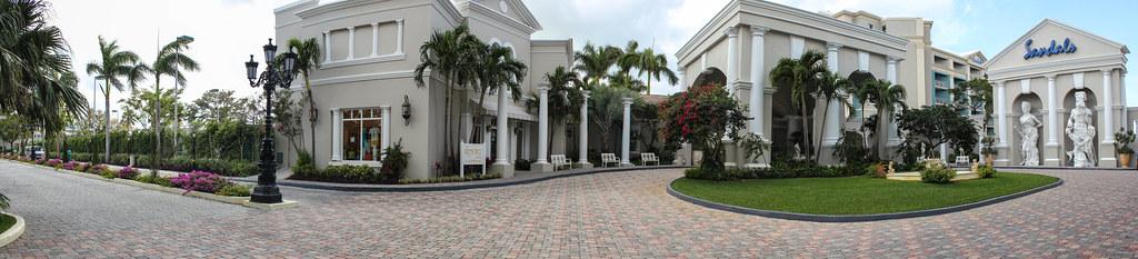 Entrée et boutique souvenir - Sandals Royal Bahamian - Nassau, Bahamas