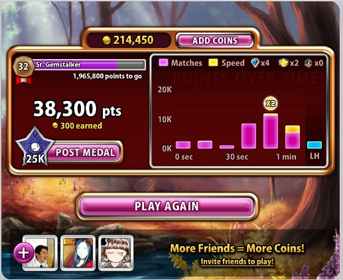 (3) FacebookのBejeweled Blitz