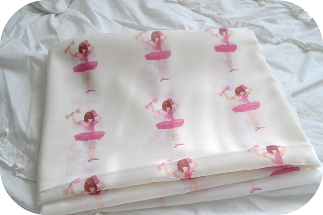Little Ballerina Fabric Design