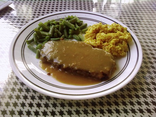 Spiral Diner Dallas - Vegan Meatloaf