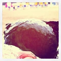 運動会のお昼はおにぎり、しっとりタイプ。江戸前海苔、紀州梅仕様
