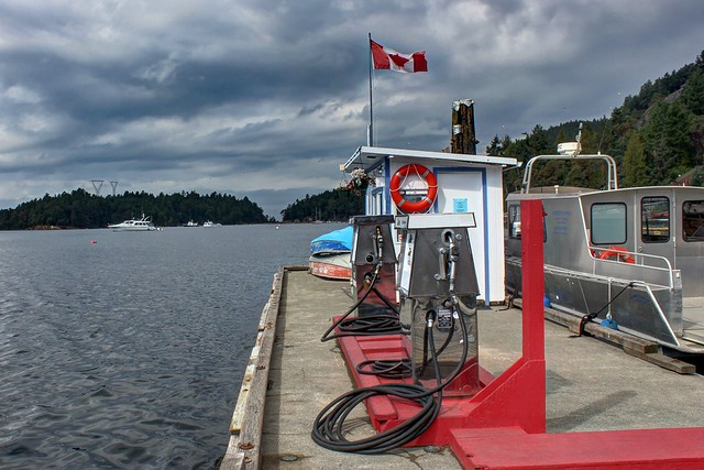 Fuel Station on Galiano Island