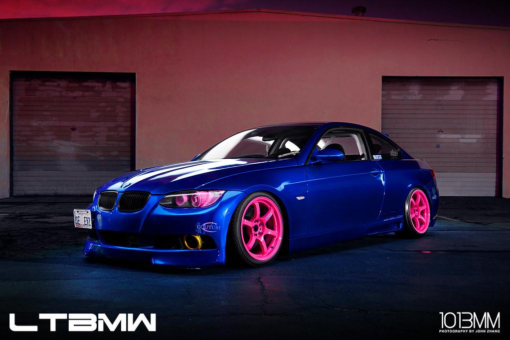 Phuong's BMW 335i AKA Blurple