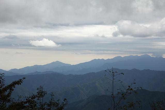 大岳山からの景色