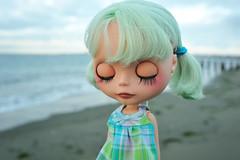 Feeling the Cool Sea Breeze