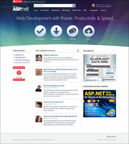 beta.asp.net - home