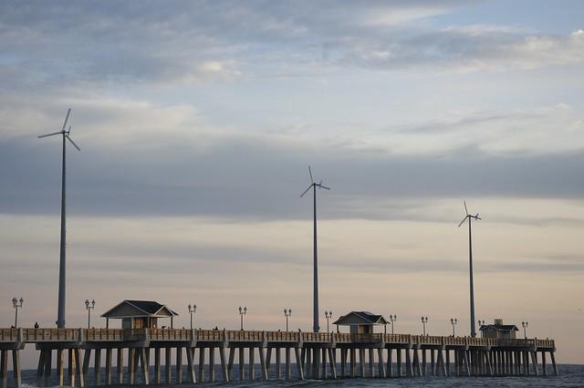 Jeanette's Pier windmills