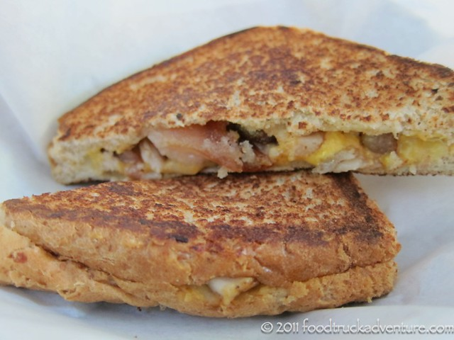 Grilled Cheese with Pork Belly